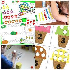 25 free dot printables kids play learn