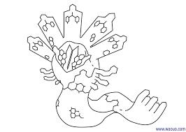 coloriage pokemon légendaire zygarde à imprimer