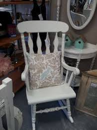 distressed and refinished rocking chair painted in ascp florence
