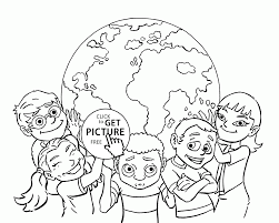 blank map of the world coloring page printable pages outline
