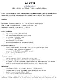 best resume for recent college graduate resume objective for high graduate