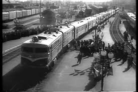 1920s scene of traffic congestion in the 1920s stock footage