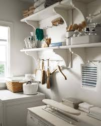 Laundry Room Storage Between Washer And Dryer by Martha U0027s Laundry Room Redo Tips To Organize A Small Space