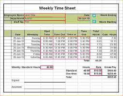 Excel Work Timesheet Template Sle Weekly Timesheet Weekly Timesheet Template 15 Timesheet