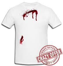 scary halloween t shirts halloween scary horror t shirt wound bleeding bullet gunshot cut