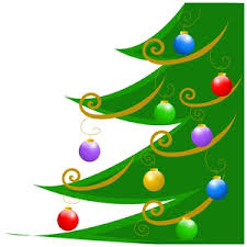 colored tree ornaments clipart clipground