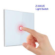 z wave light remote control z wave 1 gang eu wall light switch 1ch wireless home smart remote