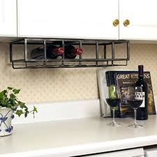 wine rack stemware glass holder under cabinet wine stemware rack