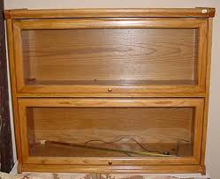 Vintage Bookcase With Glass Doors Surprising Lawyer Bookcases Glass Doors Vintage 2 Shelf Lawyer
