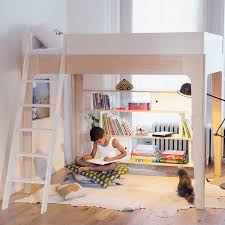 Bunk Bed With Cot Perch Double Loft Bunk U2013 Out Of The Cot