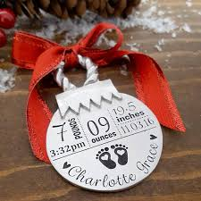 personalized baby christmas ornament new baby christmas ornament personalized baby ornament new