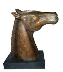 han u2013 gilly thomas bronze sculpture
