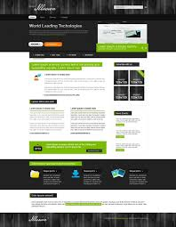 20 high quality css and xhtml templates for personal website ts