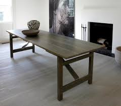 Wood Folding Dining Table Dining Room Folding Plank Dining Table For Cool Dining Room