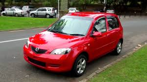 mazda automatic cars mazda demio 2003 70k 1 3l auto scarlet red youtube