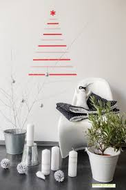 using wall decals for christmas decor easy and cheap decor at home