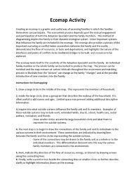 ecomap activity pdf format free template adoption