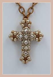 bead cross pendant necklace images Kelly from off the beaded path in forest city north carolina jpg