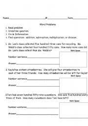 2nd grade story problems lessons tes teach