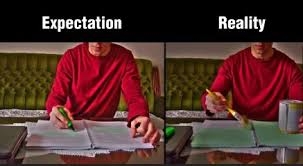 Funny Study Memes - expectation vs reality meme funny images jokes and more lols