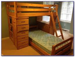 Bunk Bed With Trundle And Drawers Beds  Home Design Ideas - Trundle bunk bed with desk