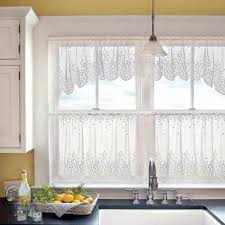 blossom lace kitchen tier u0026 curtain heritage lace curtainshop com