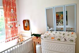bedroom exciting nursery furniture design with cozy target baby appealing nursery design with white target baby cribs and modern floor lamp plus side table