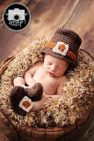 hat turkey set crochet pattern for babies 2014 thanksgiving