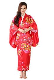 robe de chambre japonaise jtc femmes robe longue japonaise kimono lâche en satin motif de
