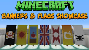 How Many Stars Does The Chinese Flag Have Minecraft 1 8 Banners U0026 Flags Showcase U0026 Tutorial Youtube