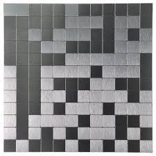 amazon com art3d peel and stick tile aluminium backsplash mosaics