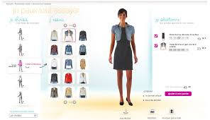design online clothes trying on clothes online camaieu marie kuter