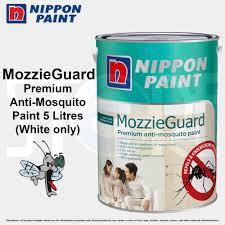 qoo10 nippon paint mozzieguard 5 litres premium anti mosquito
