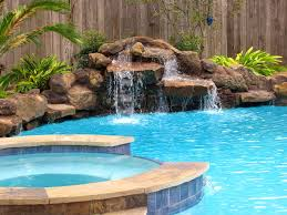 fascinating 10 cool pools with waterfalls and slides design