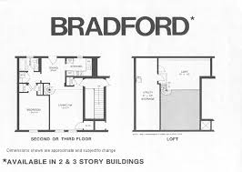 Bradford Floor Plan | bradford model floor plan fairlington historic district