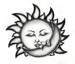 sun moon stars tattoo design photos pictures and sketches