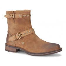 ugg womens fabrizia boots black ugg australia fabrizia studs chestnut leather side zip ankle