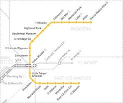 Metro Light Rail Schedule South Pasadena Foothill Gold Line