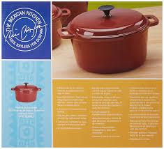 pot en fonte amazon com the mexican kitchen by rick bayless 6 quart round