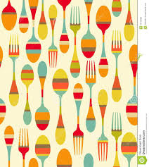 kitchen utensils pattern royalty free stock photos image 31719508