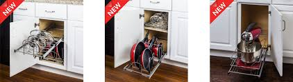 pots u0026 pan organizers for kitchen cabinets mk remodeling