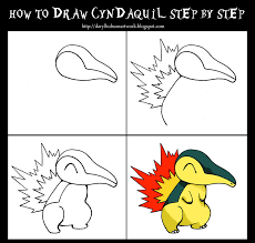 How Ro How To Draw Cyndaquil Step By Step By Darylhobsonartwork On Deviantart