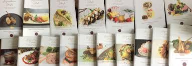 signature chefs recipe books