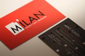 Matt Laminated Business Cards Silk Business Cards