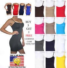 seamless cami women u0027s clothing ebay