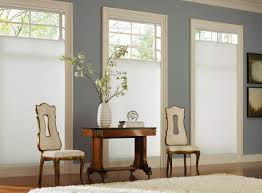interior ivory home office top down bottom up shades for windows