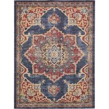 College Team Rugs Blue Area Rugs Rugs The Home Depot