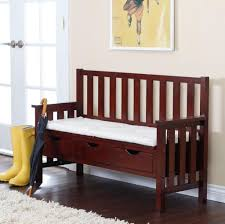Bed Backs Designs Home Decoration Mesmerizing White Indoor Bench Cushion For