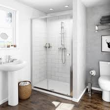 Shower Doors 1000mm by Clarity 4mm Sliding Shower Door Victoriaplum Com