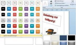 flyer designen programm flyer erstellen mit word 2010 pc magazin